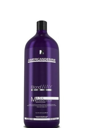 American Desire Blond Way Mask Revision Color Matizadora 1 Litro