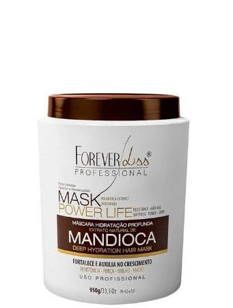 Forever Liss Máscara de Mandioca Mask Power Life 950g