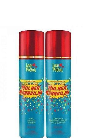 Love Potion Shampoo e Condicionador Mulher Maravilha 2x500ml
