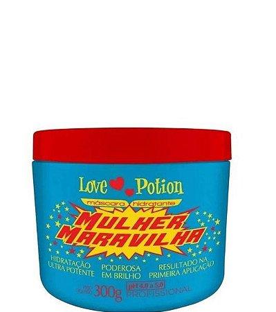 Love Potion Mulher Maravilha Máscara Hidratante Capilar 300g