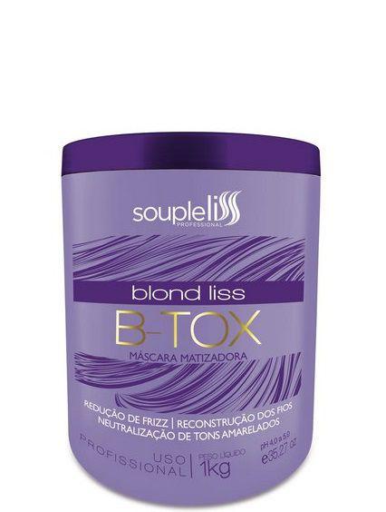 Souple Liss B-tox Blond Liss Máscara Matizadora 1kg