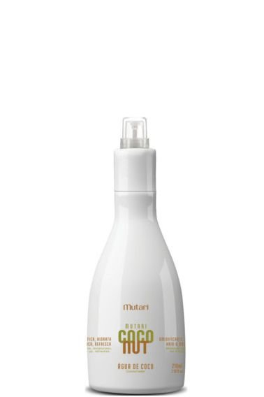 Mutari Coconut Água de Coco Spray Umidificante 210ml