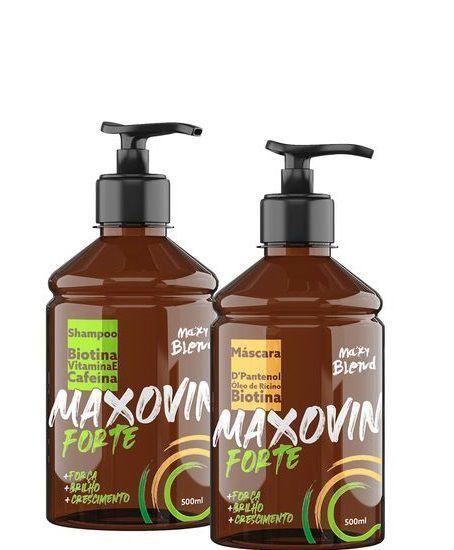 Maxy Blend Maxovin Forte Crescimento Capilar 2x500ml OUTLET