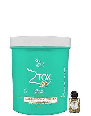 Zap Ztox Zero Máscara Canola & Mamona Organic 950g + Óleo