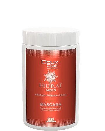 Doux Clair Hidrat Argan Máscara de Hidratação Profissional 1kg