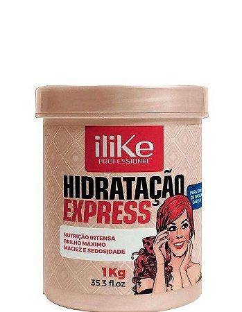 iLike Professional Máscara de Hidratação Express 1kg + Brinde