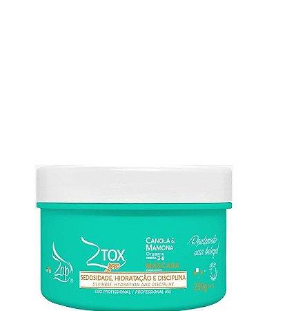 Zap Ztox Zero Máscara Canola & Mamona Organic 250g + Brinde