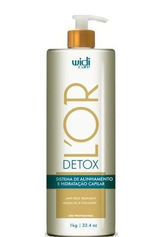 Widi Care Lor Detox Sistema de Alinhamento e Hidratação Capilar 1kg + Brinde