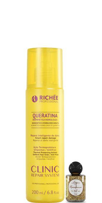 Richée Clinic Repair System Queratina Biometrica Hidrolisada 200ml + Óleo