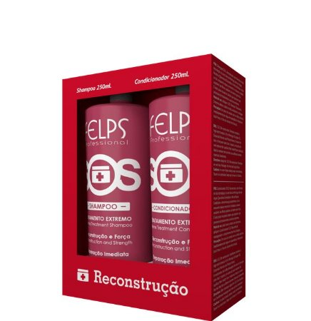 Felps SOS Tratamento Reconstrução e Força Shampoo e Condicionador 250ml