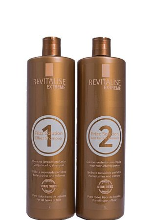 Revitalise Extreme Progressiva Sem Formol Frizz Solution 2x1 litro