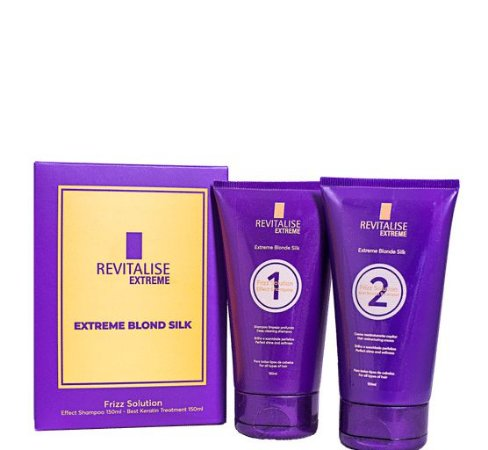 Revitalise Extreme Blonde Silk Progressiva Sem Formol 2x150ml
