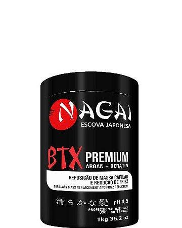 Nagai Btx Japonês Premium Reposição de Massa e Redução de Frizz 1kg OUTLET