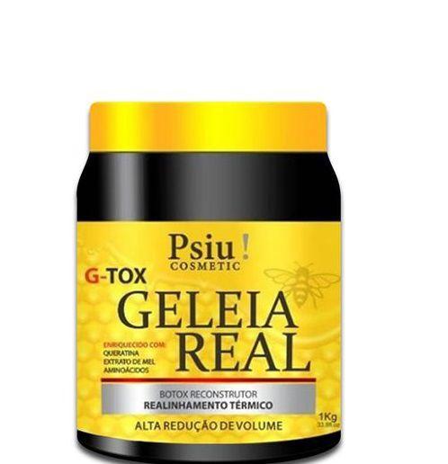 Psiu Cosmetic G Tox Geleia Real Realinhamento Térmico 1kg