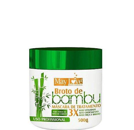 May Love Broto de Bambu Máscara de Tratamento Profissional 500g