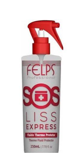 Felps SOS Liss Express Fluido P/ Escova Protetor Térmico 230ml