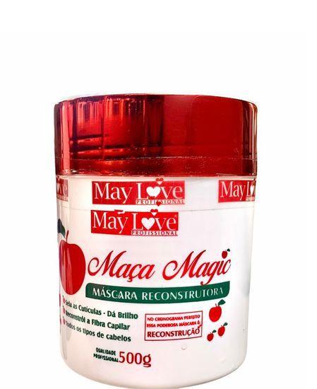 May Love Maça Magic Máscara Reconstrutora 500g