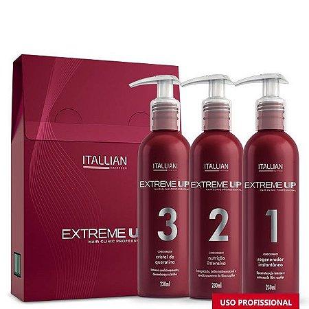 Itallian Extreme Up Hairtech SOS Reconstrutor Anti Emborrachamento 3x230ml