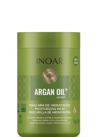 Máscara Inoar Argan Oil System Hidratação Capilar 1kg