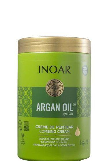 Creme para Pentear Inoar Argan Oil System 1kg