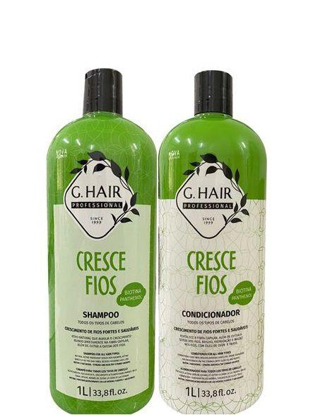 G.Hair Cresce Fios Crescimento Capilar Shampoo e Condicionador 1 Litro