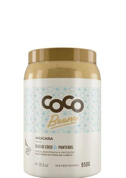Máscara Zap Coco Boom Tratamento Capilar 950g