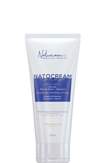 Naturiam NatoCream No Rinse Leave-in Silicone - Tutano - Queratina 250ml