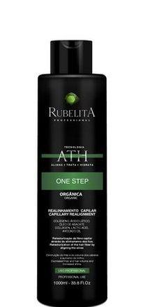 Rubelita Escova Progressiva One Step Orgânica Sem Formol 1L