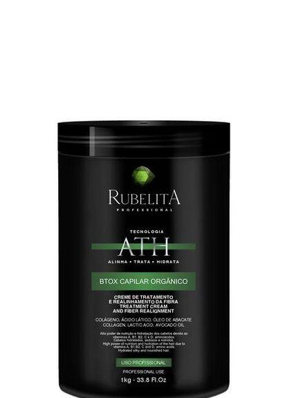 Rubelita Btox Capilar Orgânico Sem Formol 1kg