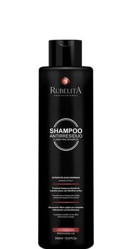 Rubelita Shampoo Antirresiduo Limpeza Profunda Algas Marinhas 500ml