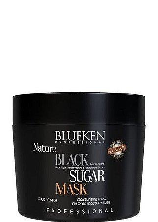 Blueken Mascara Black Sugar Mask Hidratação Profissional 300g