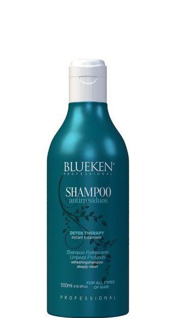 Blueken Shampoo Anti Resíduos Detox Therapy Refrescante 500ml