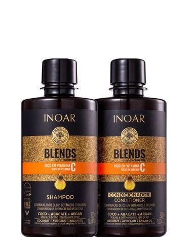 Inoar Coleção Blends Kit Shampoo e Condicionador Duo 2x300ml