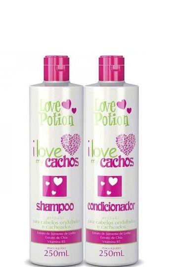 Love Potion I Love My Cachos Shampoo e Condicionador 2x250ml