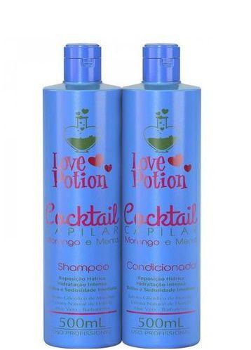 Love Potion Morango e Menta Shampoo e Condicionador Hidratação 500ml