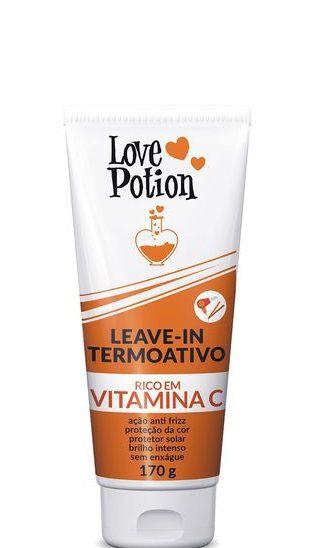 Love Potion Leave-in Termoativo rico em Vitamina C 170g