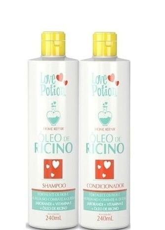 Love Potion Óleo de Ricino Shampoo e Condicionador 2x240ml
