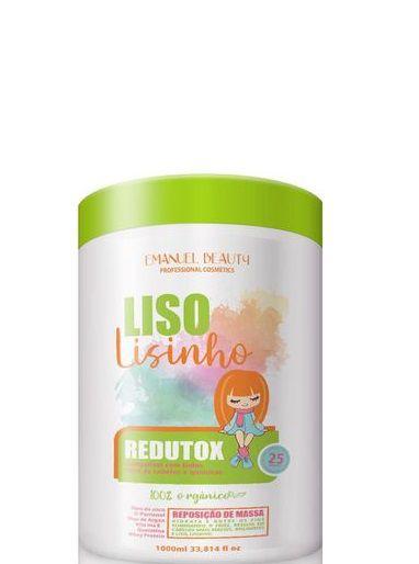 Emanoel Beauty Redutox Capilar Liso Lisinho 1kg