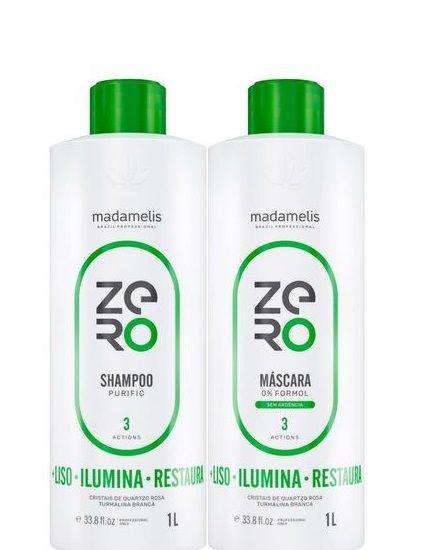 Madamelis Progressiva Zero S/ Formol 19 Aminoácidos 1L