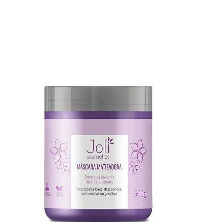 Joli Cosmetics Máscara Matizadora p/ Cabelos Loiros 500gr