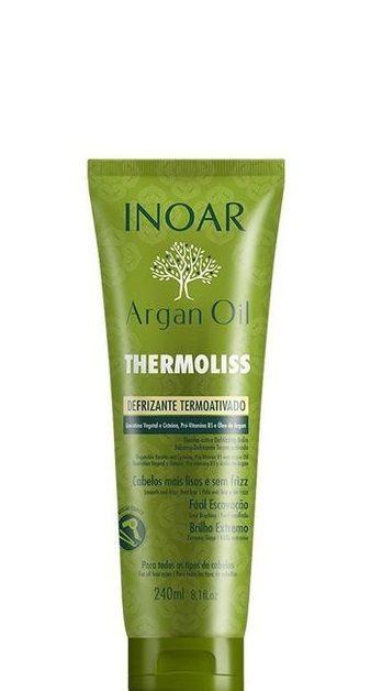 Inoar Argan Oil Thermoliss Defrizante Termoativo 240ml + Brinde