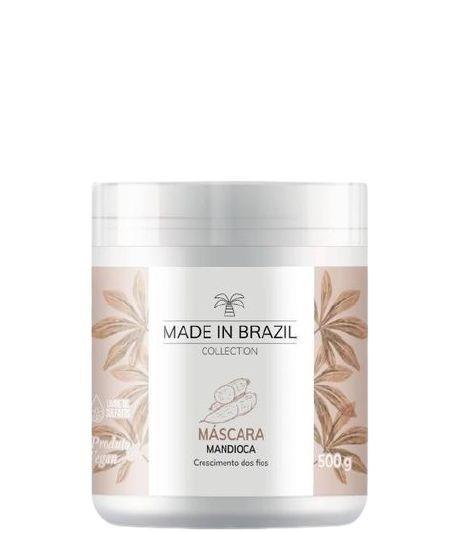 Made In Brazil Máscara de Mandioca Crescimento Capilar 500gr