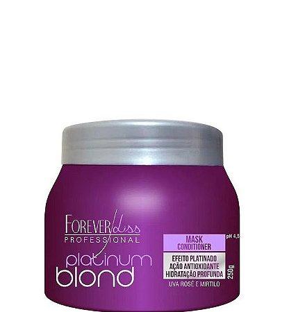 Máscara Matizadora Forever Liss Platinum Blond 250g
