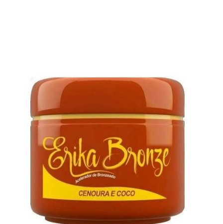 Erika Bronze Acelerador de Bronzeado Cenoura e Coco 90g