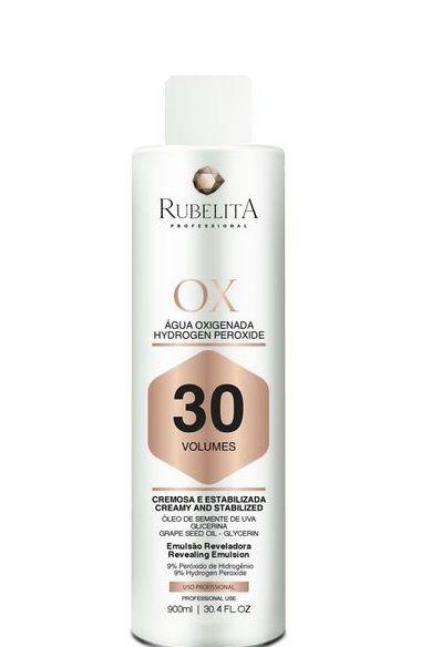 Rubelita Água Oxigenada Hydrogen Peroxide 30 Volumes - 900ml
