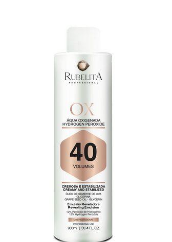 Rubelita Água Oxigenada Hydrogen Peroxide 40 Volumes 900ml