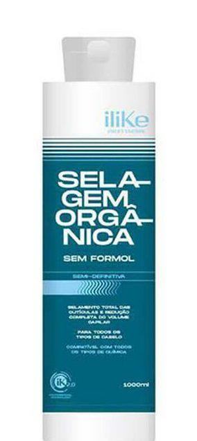 Ilike Selagem Semi Definitiva Orgânica Sem Formol 1 Litro