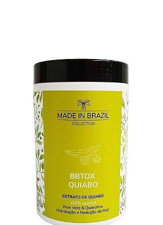 Made in Brazil BBtox de Quiabo Hidratação e Redução de Volume 1kg