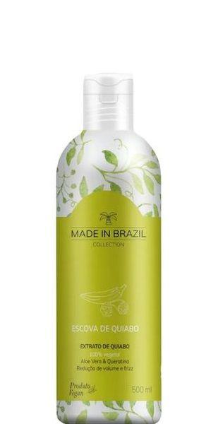 Made In Brazil Escova Progressiva De Quiabo 500ml