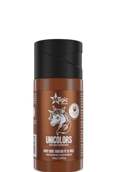 Magic Color Tonalizante Unicolors Ruivo Cobre Dourado Pé de Moça-150 ml